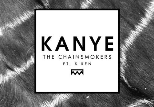 KANYE-Siren-the-chainsmokers