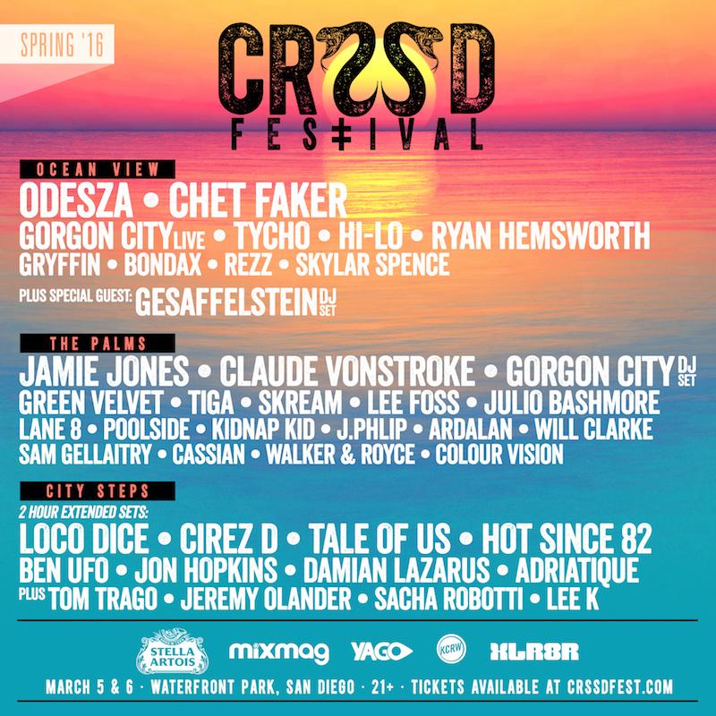 crssd lineup